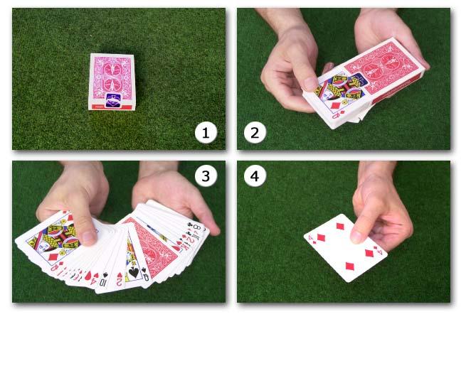 kartentrick mit 32 karten